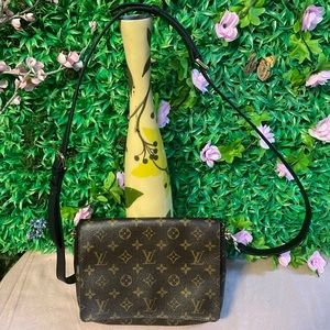 Authentic Louis Vuitton Musette Crossbody Bag